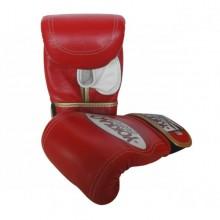 Piros színű zsákoló kesztyű