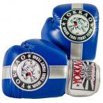 Fight Team kék-ezüst boxkesztyű – Limited