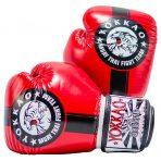 Fight Team piros-fekete boxkesztyű – Limited