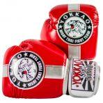 Fight Team piros-ezüst boxkesztyű – Limited