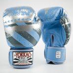 Hustle Blue Boxkesztyű